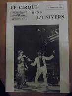 Cirque Dans L'univers Circus Circo Club Nr 2 1989 - Livres, BD, Revues