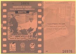 BRESCELLO - Il Museo Di Peppone E Don Camillo - Ingresso Ai Musei - Ridotto - Tickets D'entrée