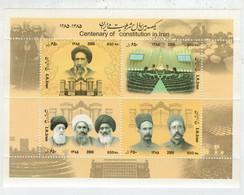IRAN   2006    CENTENARY  OF  CONSTITUTION  IN  IRAN       MNH** - Iran