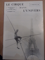 Cirque Dans L'univers Circus Circo Club Nr 4 1989 - Livres, BD, Revues