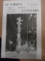 Cirque Dans L'univers Circus Circo Club Nr 2 1990 - Livres, BD, Revues