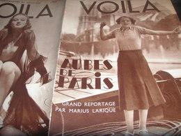 VOILA 34/PARIS LARIQUE/MONTESSEON REFUGIES ALLEMANDS/HOGGAR/ DOCUMENT ROUGE - Livres, BD, Revues