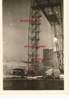 WW2 PHOTO ORIGINALE ALLEMANDE Pont Transbordeur VIEUX PORT MARSEILLE BOUCHES DU RHÔNE 13 OCCUPATION N°1 - 1939-45