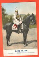 EBH-32 Sr. Maj. Der Kaiser. Original . Pionier. Gelaufen 1903 - Personnages
