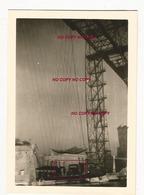 WW2 PHOTO ORIGINALE ALLEMANDE Pont Transbordeur VIEUX PORT MARSEILLE BOUCHES DU RHÔNE 13 OCCUPATION N°2 - 1939-45