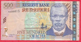Malawi 500 Kwacha Du 01/06/2003----XF/SUP+ - Malawi