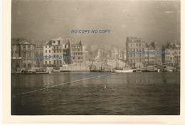 WW2 PHOTO ORIGINALE ALLEMANDE Quartier Du VIEUX PORT Détruit à MARSEILLE BOUCHES DU RHÔNE 13 OCCUPATION N°1 - 1939-45