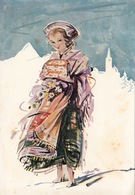 """Costume Della Val Chisone-Pinerolo-Pubblicità Advertising """"PANETTONE GALUP""""-Originale 100%an2 - Costumi"""