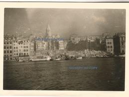 WW2 PHOTO ORIGINALE ALLEMANDE Quartier Du VIEUX PORT Détruit à MARSEILLE BOUCHES DU RHÔNE 13 OCCUPATION N°2 - 1939-45