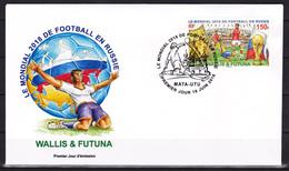 Wallis Et Futuna 2018 Coupe Du Monde De Football Football World Cup Russia  FDC RARE - 2018 – Russland