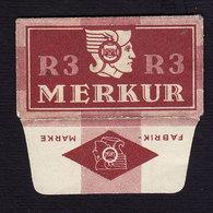 R3 MERKUR - Razor Blade Old Vintage WRAPPER (see Sales Conditions) - Lames De Rasoir