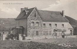 Forrières  , Maison Du Notaire Geauquier  ;  Edit. Dambly Photo à Forrières ; ( Cachet Ciney 1909 ) - Nassogne