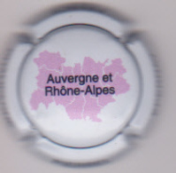 Capsule Champagne PIERREL ( 8h ; Région AUVERGNE Et RHONE-ALPES ) {S51-18} - Champagne