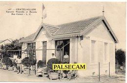 17  Charente - Maritime  Chatelaillon épicerie Nouvelle Rue Carnot    Paypal Gratuit - Cartes Postales
