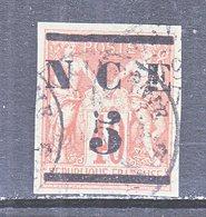 NEW  CALEDONIA   6   (o) - Nuova Caledonia