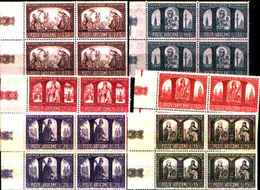 74302) Vaticano-QUARTINA- Millenario Cattolico Della Polonia - 3 Maggio 1966 -MNH**- - Unused Stamps