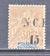 NEW  CALEDONIA   61   * - Unused Stamps