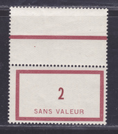 FRANCE FICTIF N°  F18 ** MNH Timbre Neuf Sans Charnière, TB - Fictifs