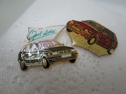 PIN'S   LOT 2 OPEL  ASTRA - Opel