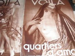 VOILA 34/ QUARTIERS D AMOUR/CONSEIL DOUMERGUE/ALLAIS HONFLEUR /VOUVRAY CURNONSKY GAUDISSART/CAF CONC/ALPINISME /GUERRE - Livres, BD, Revues