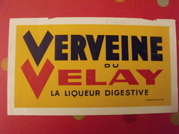 Publicité Verveine Du Velay, La Liqueur Digestive. Vers 1970 - Publicités