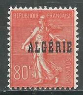 Algérie YT N°27 Semeuse Lignée Neuf ** - Algérie (1924-1962)