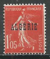 Algérie YT N°30 Semeuse Fond Plein Neuf ** - Algérie (1924-1962)