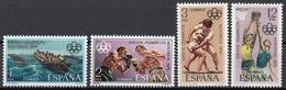 Spagna 1976 Sc. 1965/1968 Olimpiadi Montreal Espana Spain Full Set MNH Grecoromana Pugilato Pallacanestro... - Pesci