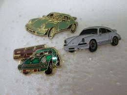 PIN'S  LOT 3 PORSCHE 911 - Porsche