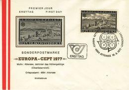AUSTRIA  1977 EUROPA CEPT FDC - Europa-CEPT