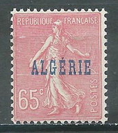 Algérie YT N°25 Semeuse Lignée Neuf ** - Algérie (1924-1962)
