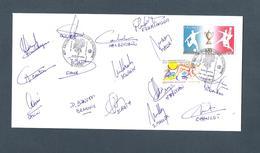 AUTOGRAPHE JOUEURS FOOTBALL.. FC METZ - SAISON 1991 / 1992  ....FLUKINGER ... - Football
