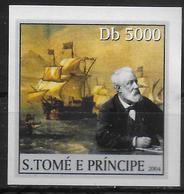 ST THOME ET PRINCE   N° 1910 * * NON DENTELE  Bateaux Jules Verne - Bateaux