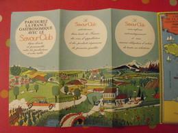 Publicité Le Savour Club. Dépliant 8 Pages Vers 1980 - Publicités
