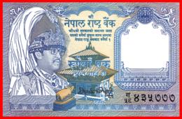 NEPAL BILLETE ASIA NEPAL 1 RE.1 RUPIA - Népal