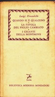 MASCHERE NUDE PIRANDELLO LUIGI MONDADORI 1959 BIBLIOTECA MODERNA MONDADORI. - Livres, BD, Revues