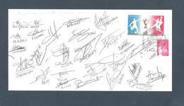 AUTOGRAPHE JOUEURS FOOTBALL.. CHAMOIS NIORTAIS     NIORT SAISON 2003/04 - Football