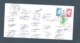 AUTOGRAPHE JOUEURS FOOTBALL.. CHAMOIS NIORTAIS     NIORT SAISON 1993 / 94 - Football
