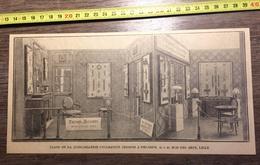ANNEES 20/30 STAND DE LA QUINCAILLERIE TRENOIS & DECAMPS RUE DES ARTS LILLE - Collections