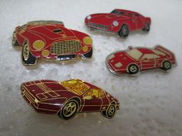 PIN'S   LOT 4  FERRARI - Ferrari