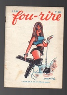 Fou-Rire N°220 Dessins Humoristiques Et Histoires Coquines De 1970 - Livres, BD, Revues