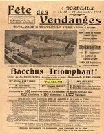 33  Gironde  Bordeaux  Fête  Des  Vendanges        Paypal Gratuit - Cartes Postales