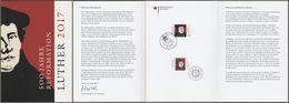 "Bund + Brasilien: Minister Card - Ministerkarte, Mi-Nr. 3300: "" Martin Luther "" Joint Issue Gemeinschaftsausgabe - Covers & Documents"