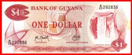 GUAYANA   ------    BILLETE DE 1 DOLAR DE LA GUAYANA - Guyana