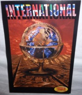 Carte Postale - International (it's A Global Thing) Tower Records, Video, Books (mappemonde) - Publicité