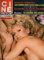 Ciné Revue Télé Programmes N°13 Sylvia Kristel - Richard Burton - Gregory Peck - Sabu - La Guerre Des Sexes De 1978 - Télévision