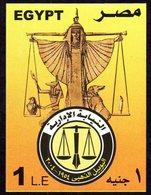 4 - EGYPTE Bloc Yvert BF93 ** 50 Ans Ordre Des Avocats - Balance - Franc Maçonnerie - Blokken & Velletjes