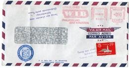 NETHERLANDS ANTILLES - THE WINDWARD ISLANDS BANK LTD/ PHILIPSBURG/SINT MAARTEN RED METER / EMA 1972 - Curacao, Netherlands Antilles, Aruba