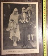 ANNEES 20/30 MARIAGE DE CARRELET CLAUDE VERLEY - Collections