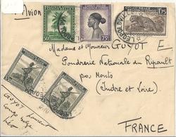 Congo Belge Devant De Lettre Affranchie - Congo Belge